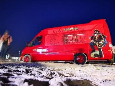 Легендарный Captain Morgan Partybus